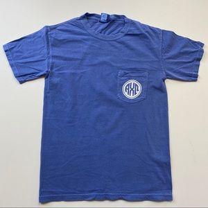 Alpha Chi Omega Comfort Colors Short Sleeve Tshirt